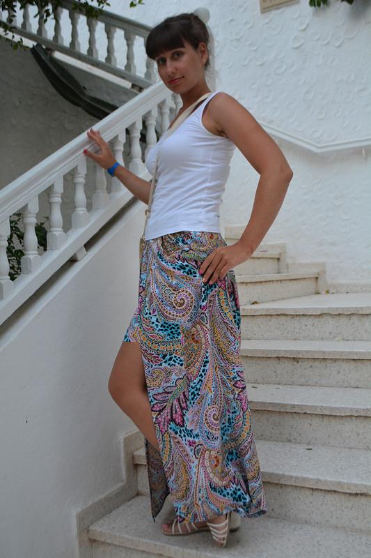 «Дизайнерская» юбка