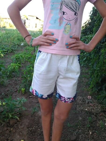 Бермуды детские