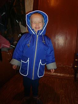 Работа с названием зимняя куртка племяннику