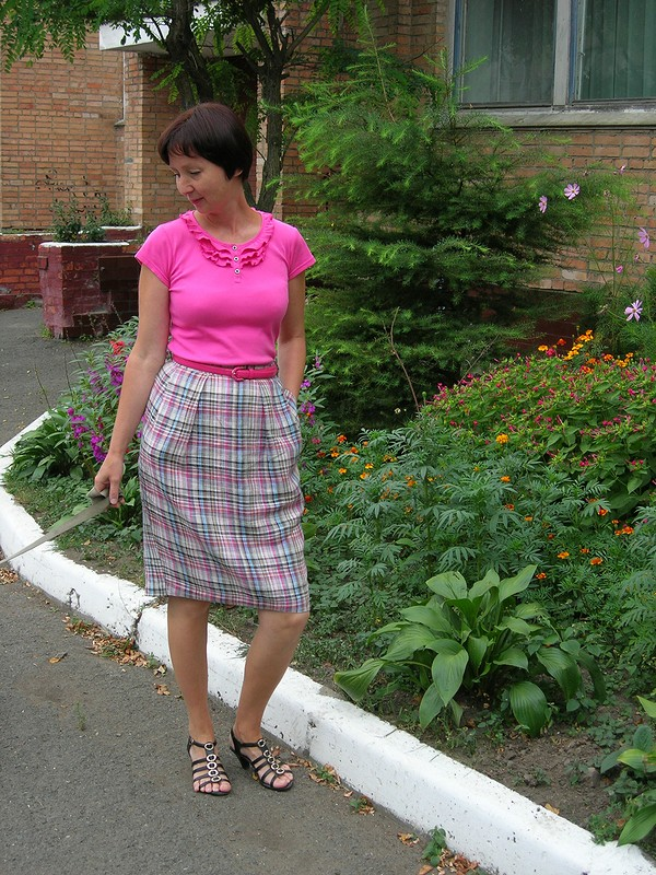 летняя юбка длялетних футболочек