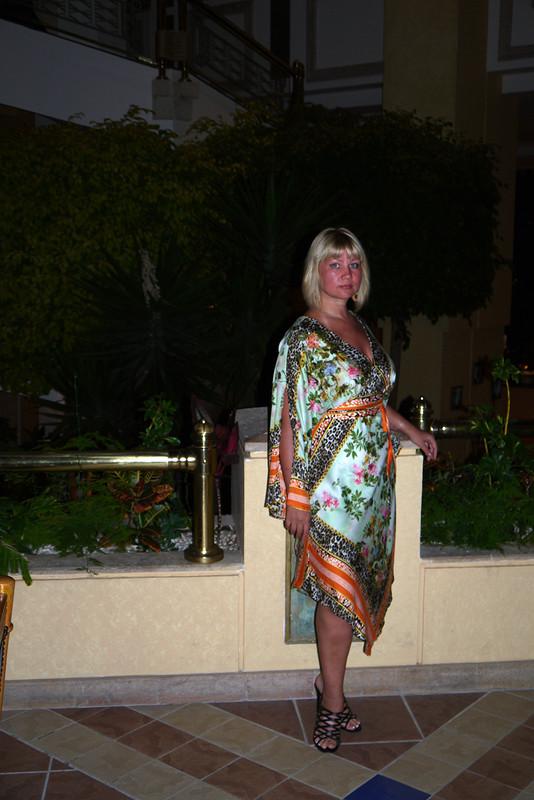 Отпускное платье