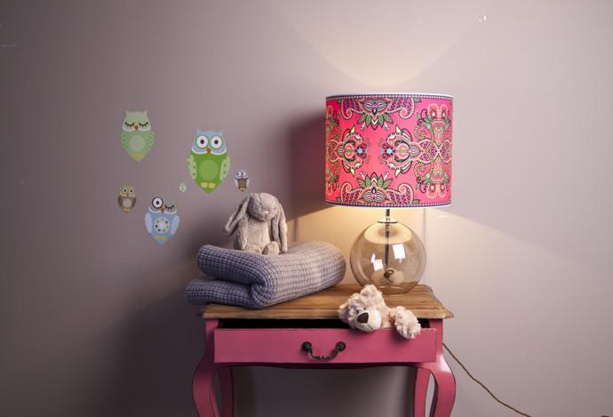 Как креативно обустроить детскую комнату