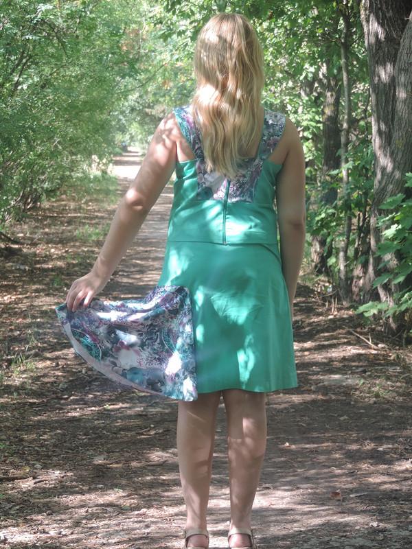 Наш вариант платья от olga оля