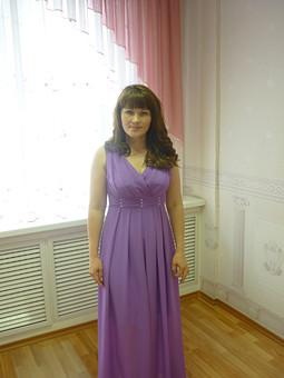 Работа с названием Платье для торжества