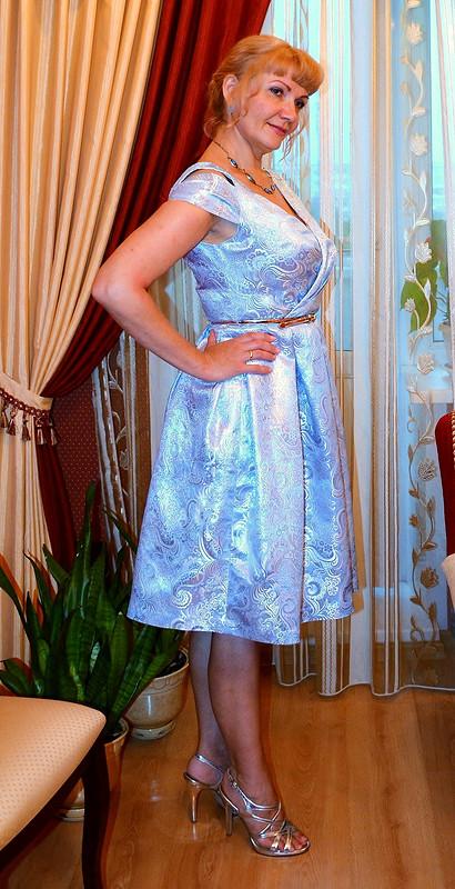 Платье насеребрянную свадьбу