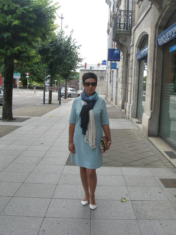 платье а-ля 70-е от Sannier