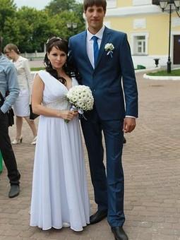 Работа с названием Свадебное платье!