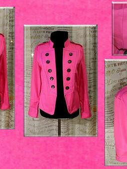 Работа с названием Джинсовый Розовый Жакет !!!
