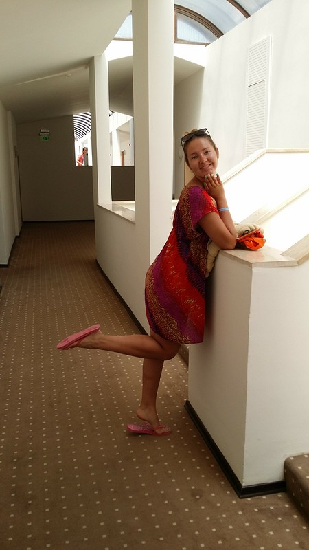 пляжное платье от Yuliya ya