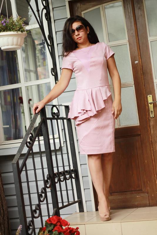 Платье скуском баски :)
