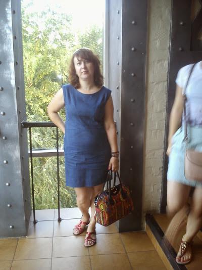 Платье изджинсы