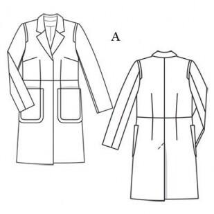 Летнее пальто от tanua