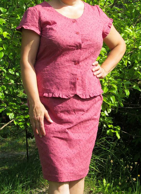 НЕСОСТОЯВШЕЕСЯ платье...или проверенные выкройки от Елена  arvovna