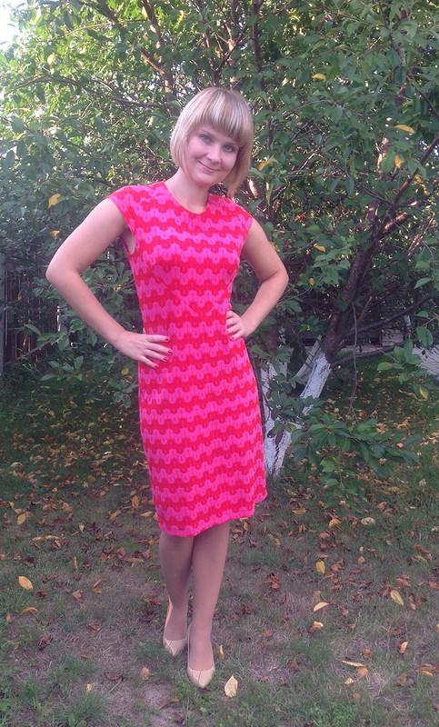 Платье ссердечком.