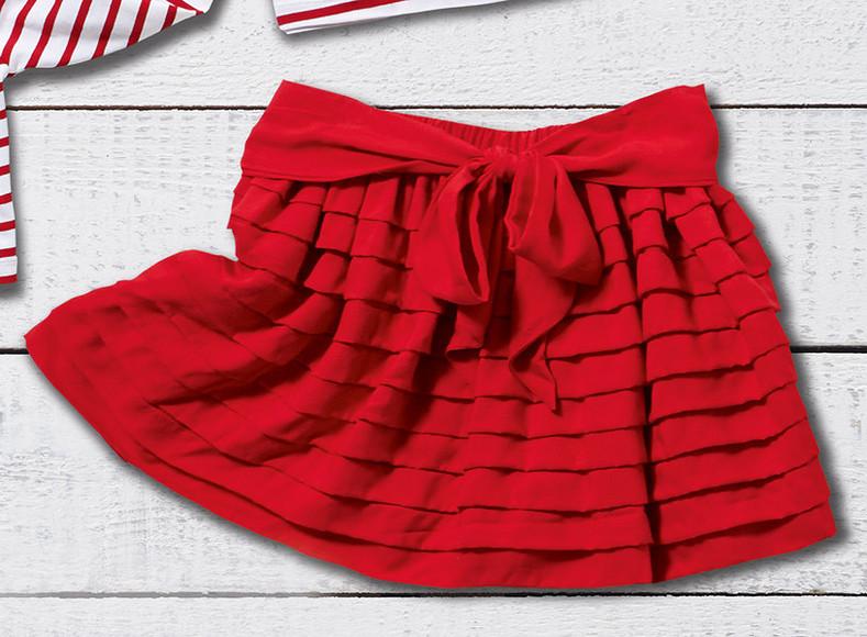 Как сшить юбку длядевочки безвыкройки