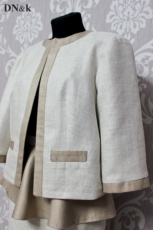 Льняной костюм