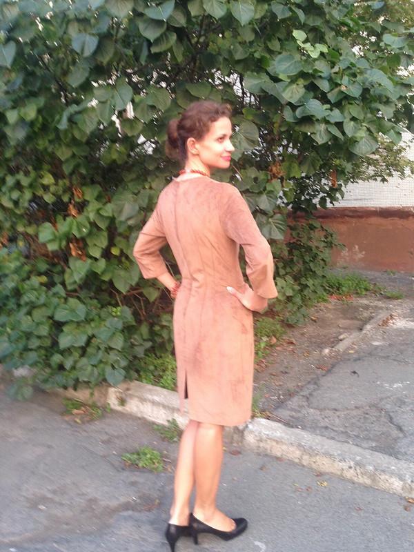 Осеннее платье встиле ретро