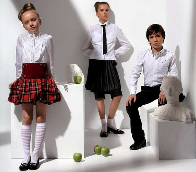 Школьная мода