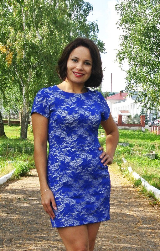 Кружевная синь)))