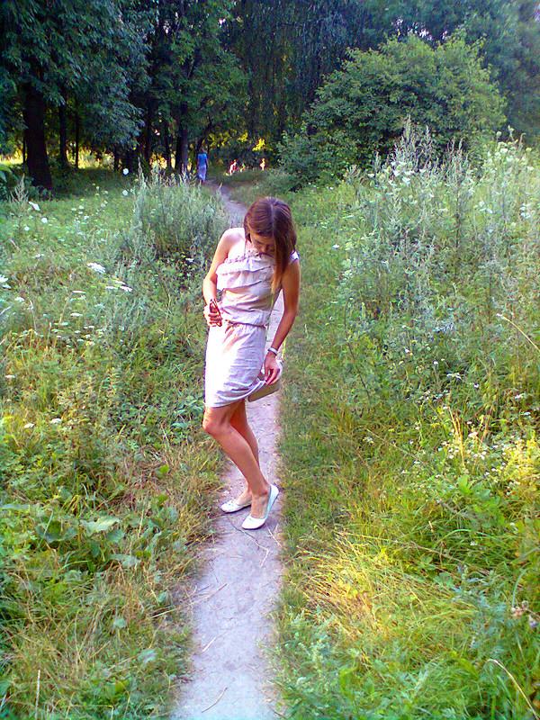 Платье повыкройке блузки 6/2010 120 A от yusjanja