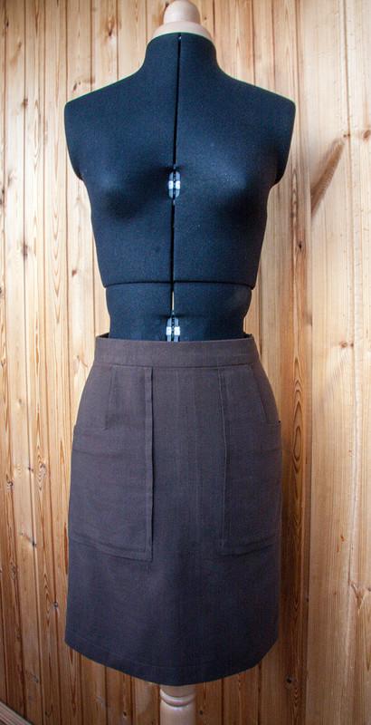 Юбка коричневая от wardrobecreator