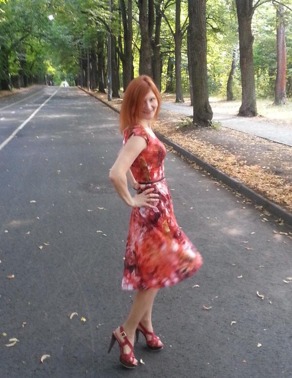 Платье коттенку волос)