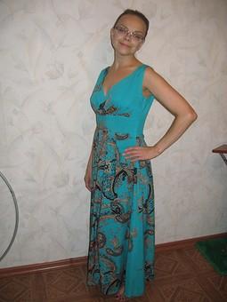 Работа с названием Платье греческое