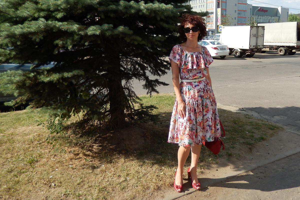 И моё платье вгалерею