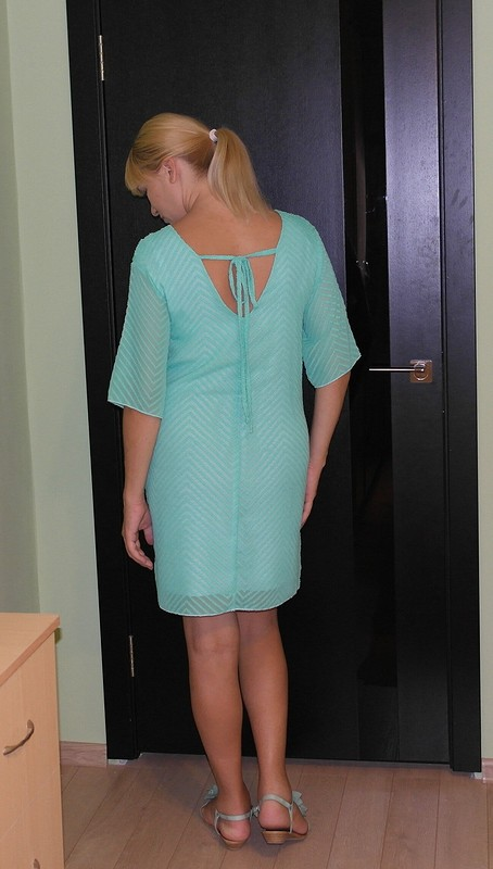 мохнатое платье