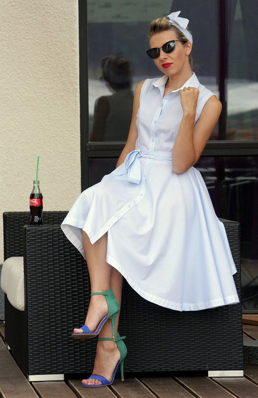 pin-up style