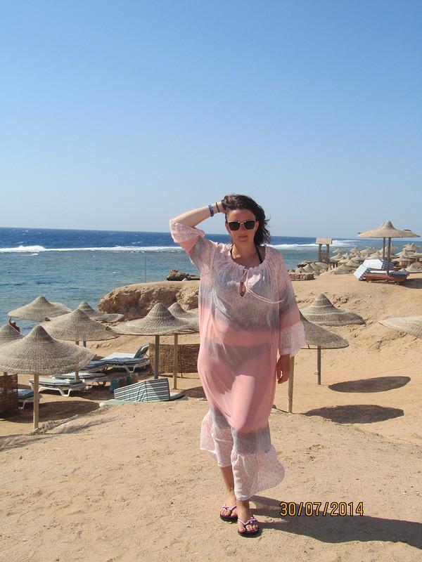 Море, солнце, пляж илюбимое пляжное платье.