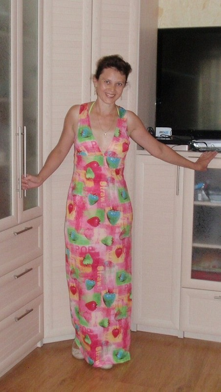 Ещё неягодка или платье-пелёнка. от OlgaLeto