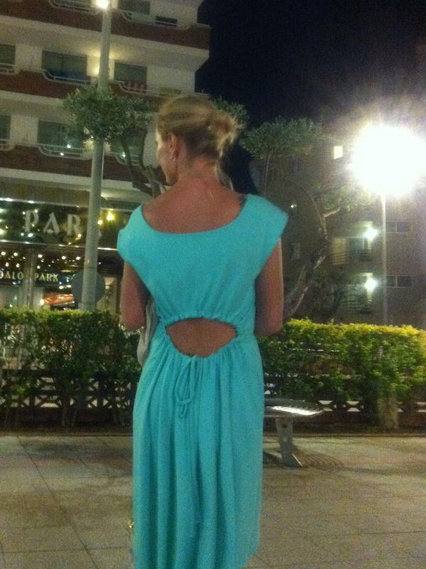 Случайное платье...