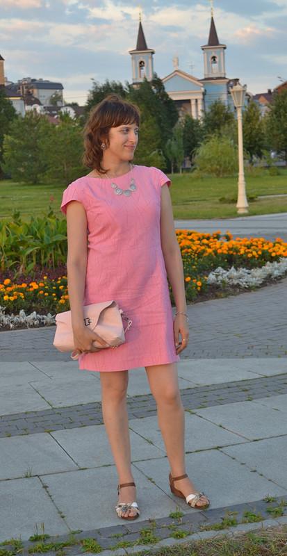Розовый фламинго...