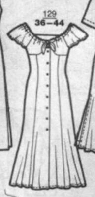платье 129, апрель 1994