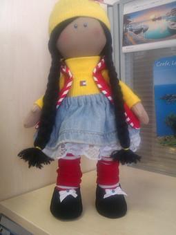 Работа с названием Куколка безымянная