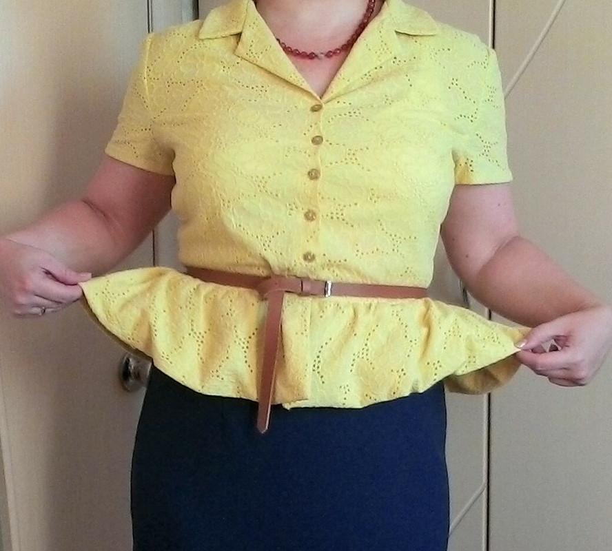 Блузка изшитья.
