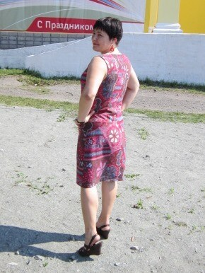 Простое платье накаждый день.