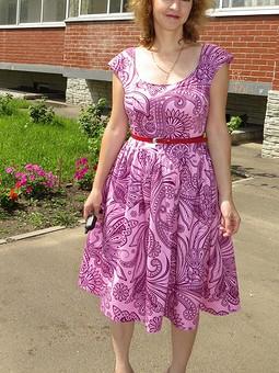 Работа с названием Еще одно летнее платье