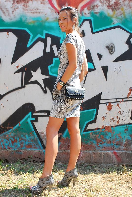 Змеиное платье))