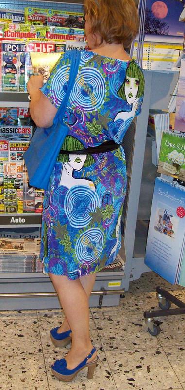 летнее платье исиний мешок