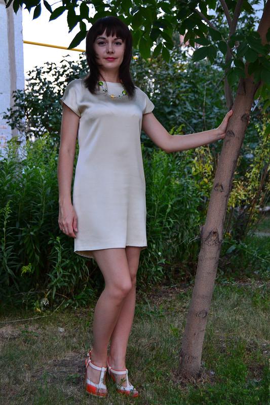 Неудавшийся топ или мое первое платье
