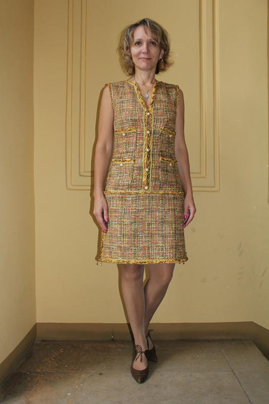 Рыженькое Шанелевское платье :-)