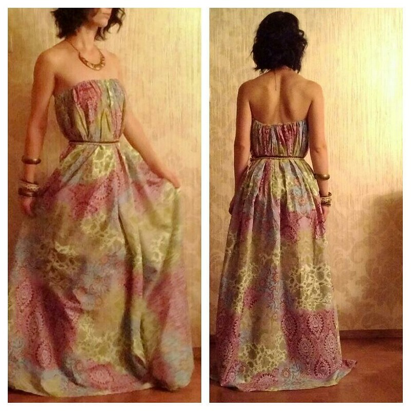 Платье за30 мин.