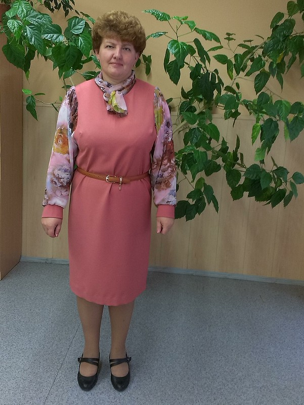 Мартосентябрьское платье