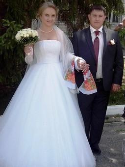 Работа с названием Свадебное платье в стиле Леры Кудрявцевой.