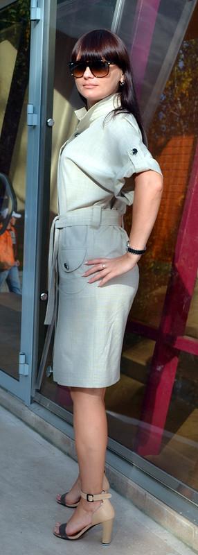 Платье сафари от 1LARISA1