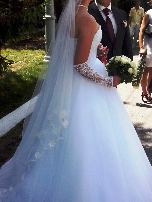 Свадебное платье встиле Леры Кудрявцевой.