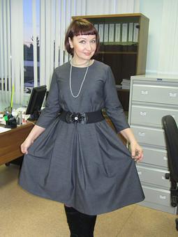 Работа с названием Просто платье