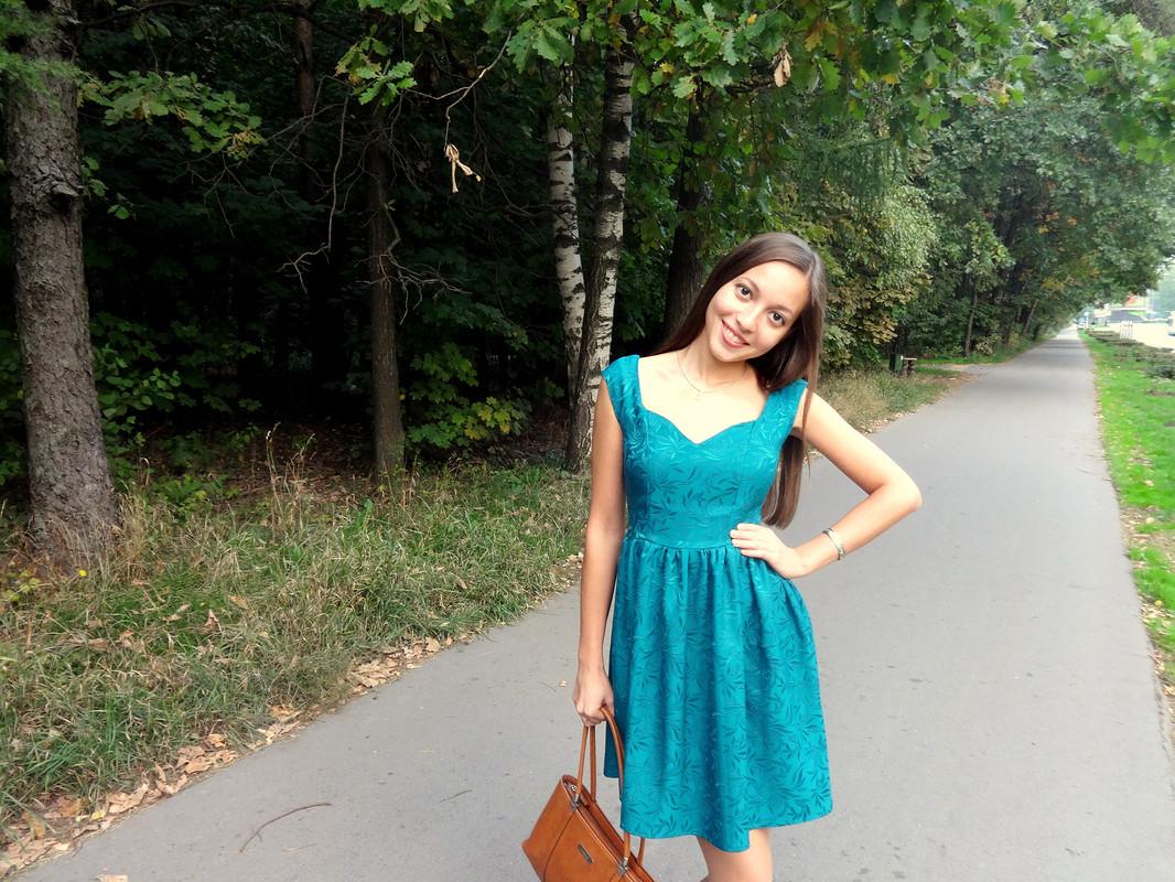 Платье длятеплой осени